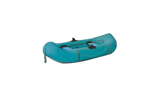Лодка Резинова Турист 2 с веслами или гребками